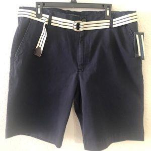 U.S. Polo Association Navy Shorts Size 40 New